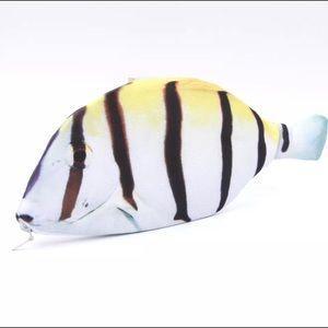 Handbags - Striped Fish Coin Purse